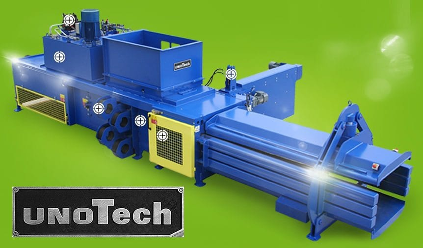 unoTech fully auto balers