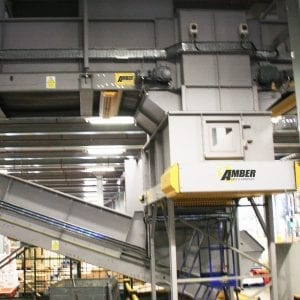 slider belt conveyor.
