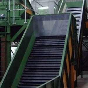 steel belt conveyor.